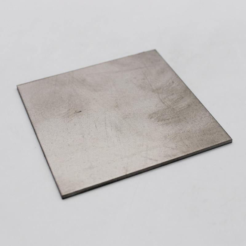 0.5mm x 100mm x 100mm Pure Titanium Plate/Sheet недорого