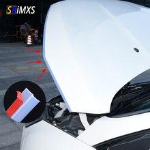 Прозрачная резиновая уплотнительная лента Z образной формы для автомобильной двери