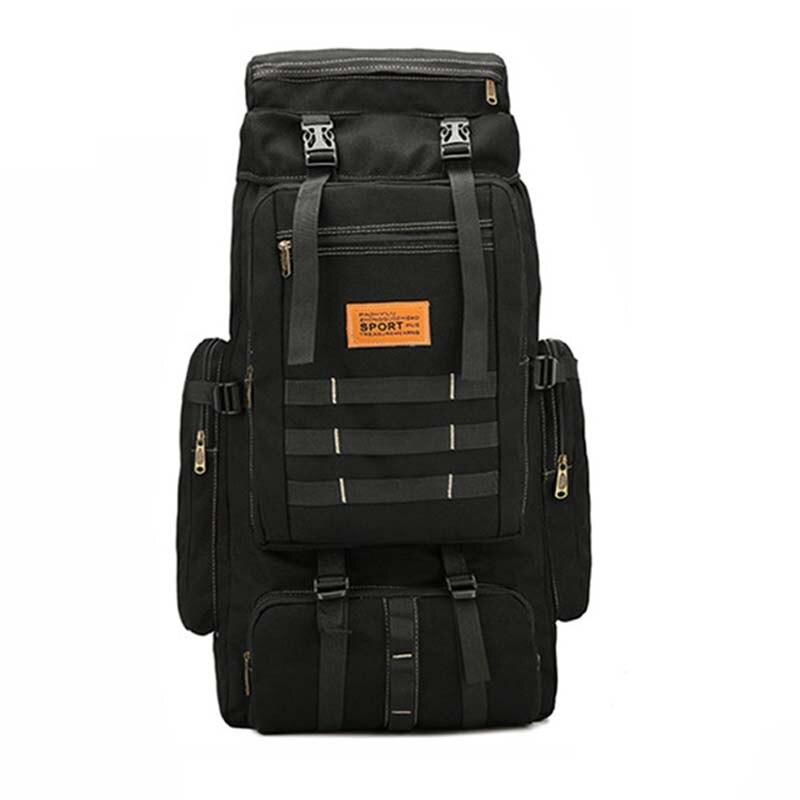 Большая военная сумка, Холщовый мужской рюкзак, тактическая Сумка для кемпинга, походов, армейский дорожный уличный рюкзак для альпинизма