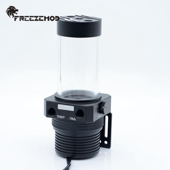 FREEZEMOD Full Metal Pump Box 1100L/H Magnetic Suspension Pump Water Tank Combo Integrated PWM Intelligent Control Water Cooler
