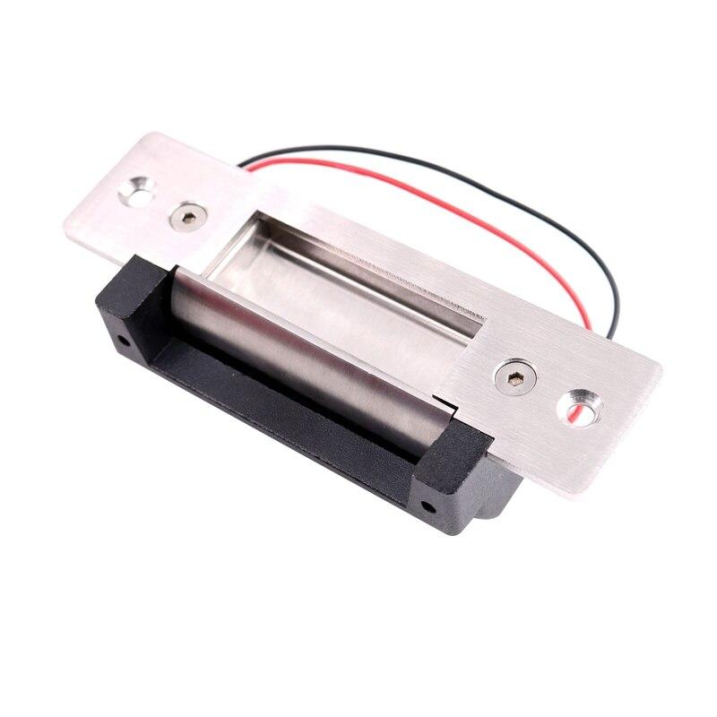 تيار مستمر 12 فولت ANSI الكهربائية سترايك قفل فشل آمن فشل آمن قابل للتعديل 2 كابل