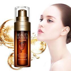 Soro de controle hialurônico ácido rosto soro crean cuidados com a pele hidratante branqueamento dropshipping