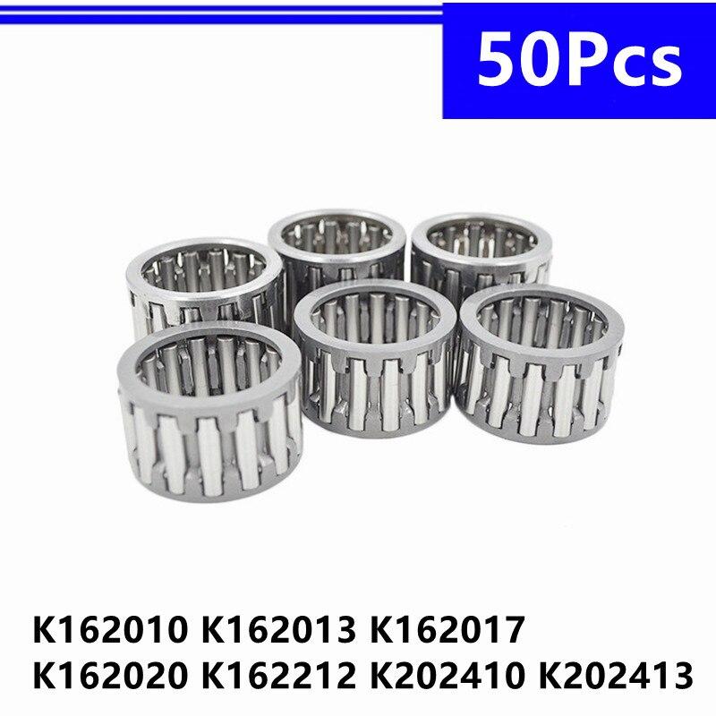 50 قطعة K162010 K162013 K162017 K162020 K162212 K202410 K202413 شعاعي محمل ذو بكرات إبرية قفص المجالس تحمل