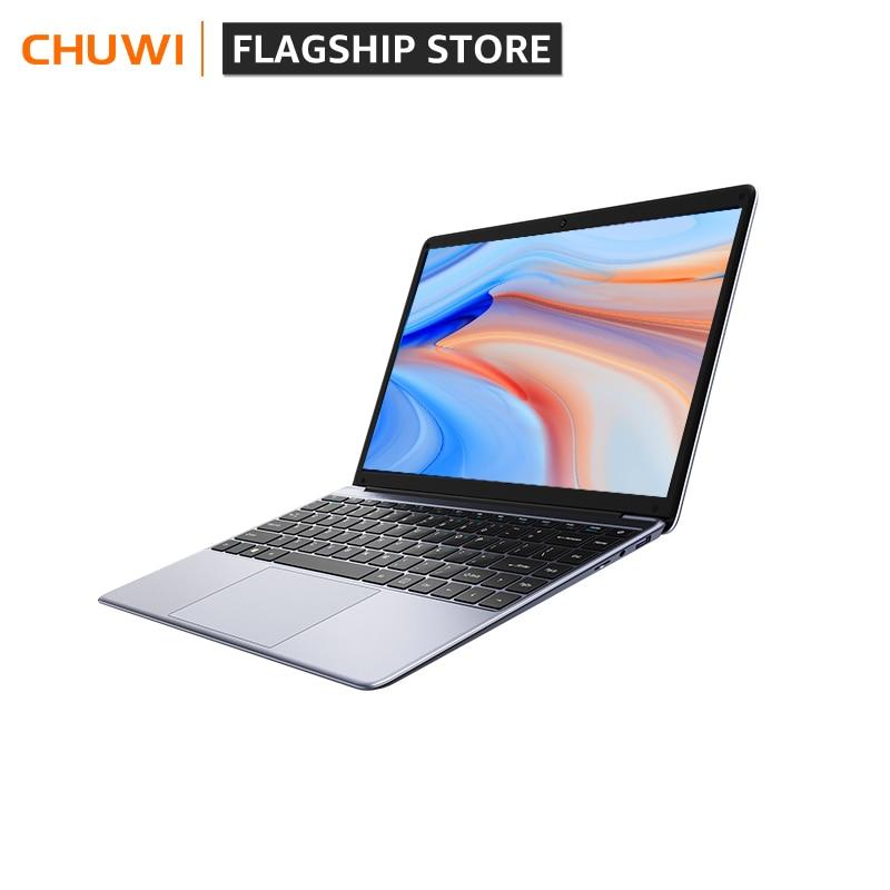 Promo CHUWI HeroBook Pro 14.1Inch Laptop 8GB RAM 256GB SSD Intel Gemini lake N4020 Dual core  Windows 10 computer Full Layout Keyboard