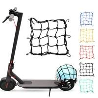 universal 6 hooks bungee cargo net motorcycle bike scooters hold down fuel tank luggage mesh storage organizer net bag