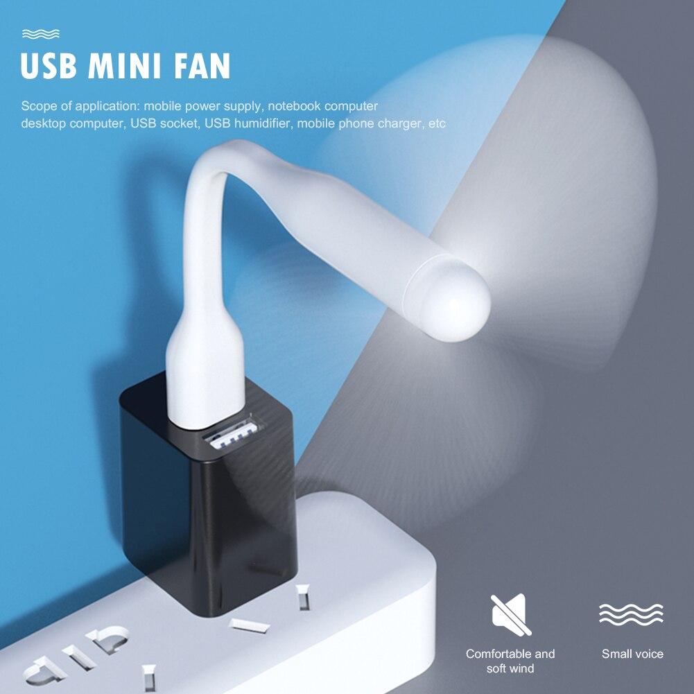 Мини вентиляторы мини стол перезаряжаемые тихие офисы гибкий USB для Power Bank ноутбук ПК компьютер AC зарядное устройство