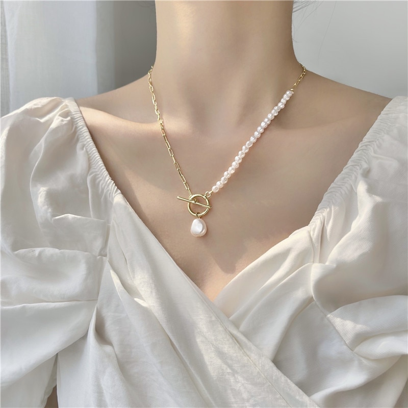 Женское-Ожерелье-с-жемчугом-нежное-ожерелье-под-шею-в-стиле-ретро-модная-трендовая-цепочка-до-ключиц-2021