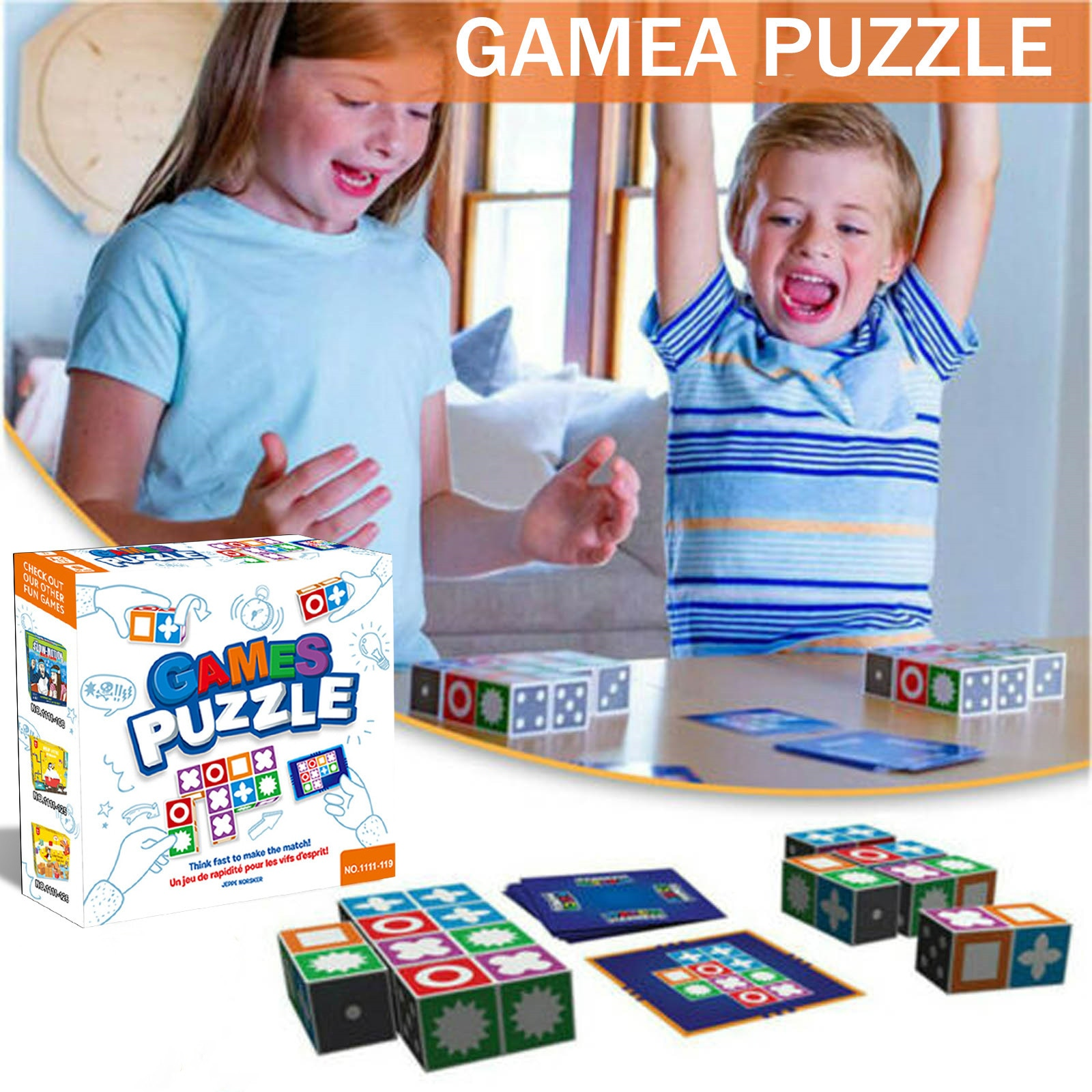 Children kids toys Games Puzzle Board Game Children Matching Toys Intelligence Development Toy Kit Educational Toys игрушки#LR2