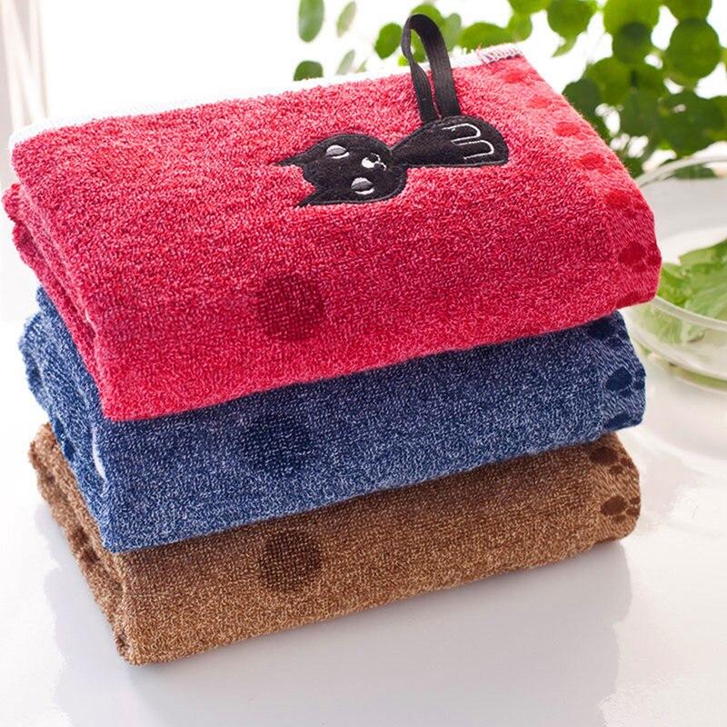 Nueva toalla bordada de algodón suave para mesa servilletas envío gratis para llevar o soportar dibujos animados nueva llegada gancho de gato toallas de cocina