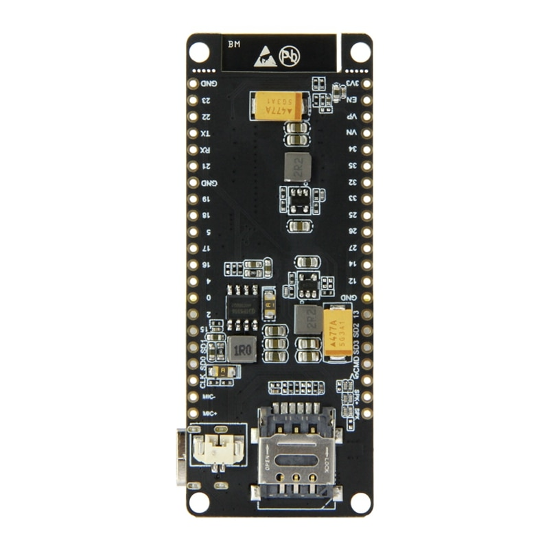 Ms-ttgo t-call V1.3 Esp32 módulo inalámbrico Gprs antena Sim tarjeta Sim800L módulo