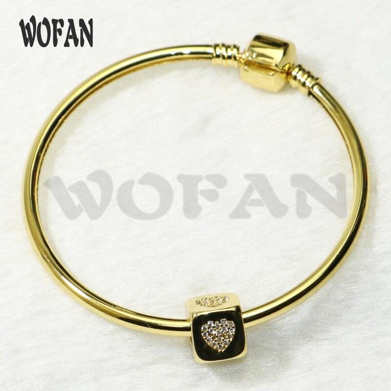 Amuletos de cubo, pulsera de color dorado, joyería hecha a mano, amuletos de zirconio, brazalete, regalo de joyería para pulseras de mujer