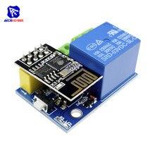 Diymore ESP8266 ESP-01S ESP01S WiFi sans fil adaptateur relais Module commutateur pour Arduino Smart Home télécommande