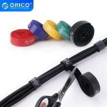 ORICO CBT-5S Kabel Veranstalter Draht Kabel Halter Kabel Wickler 5 Pcs Nylon Kabel Bunte Krawatten Label Band Draht