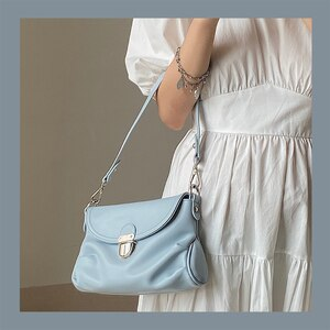 Casual Tote bag 2020 Fashion New High quality Soft PU Leather Women's Designer Handbag Shoulder Messenger crossbody Bag Female
