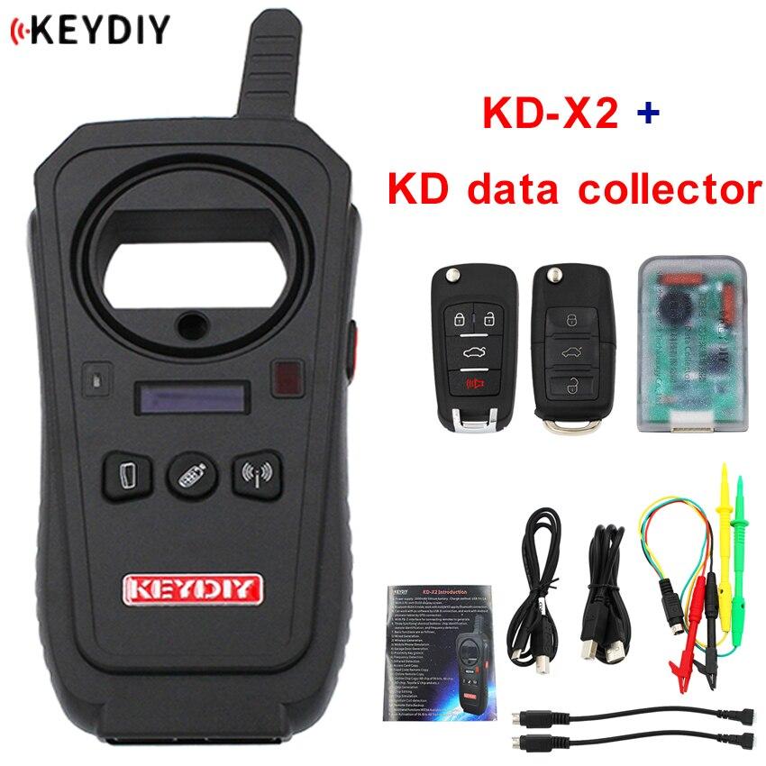 Fabricante remoto KEYDIY KD-X2 desbloqueo y generador-clon del transpondedor con copia de transpondedor de 96 bits 48 sin Token + KD recolector de datos