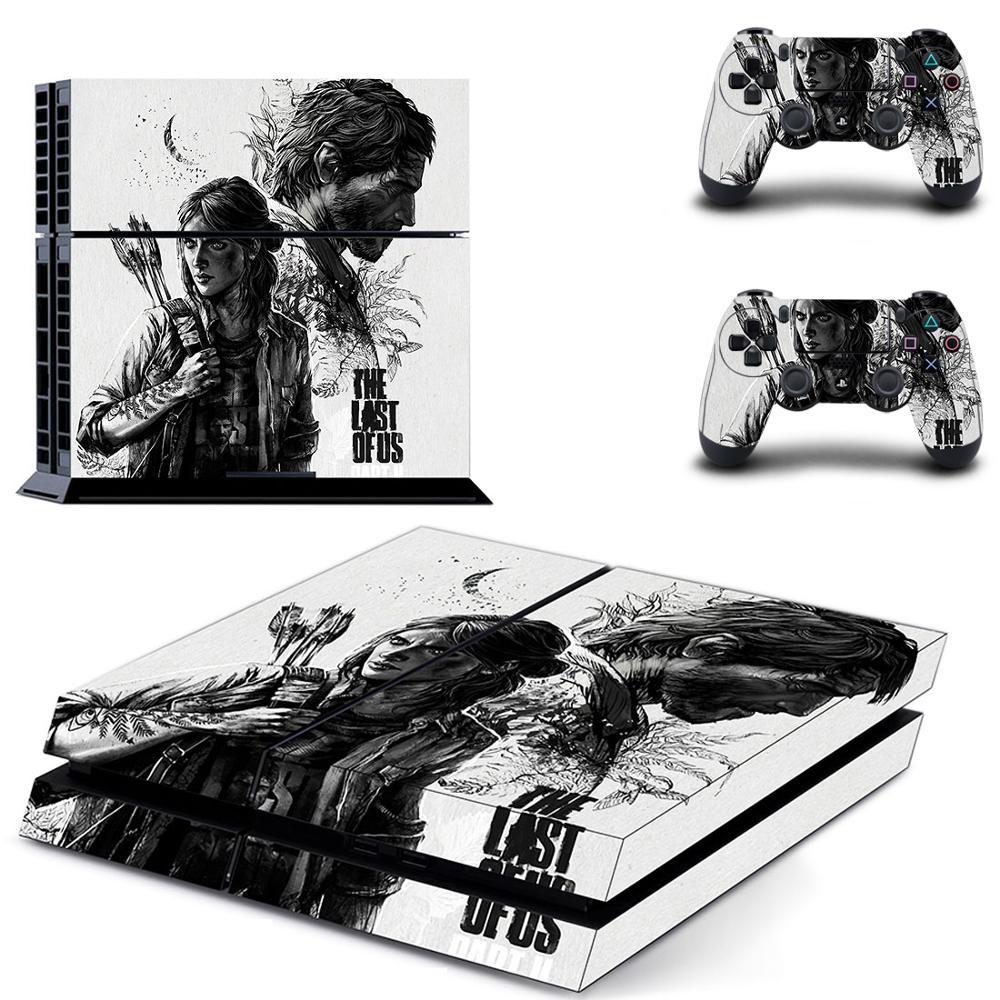 Pegatina de piel PS4 para consola PlayStation 4 y controladores, pegatina de vinilo para PS4, cubierta completa de los últimos estados unidos