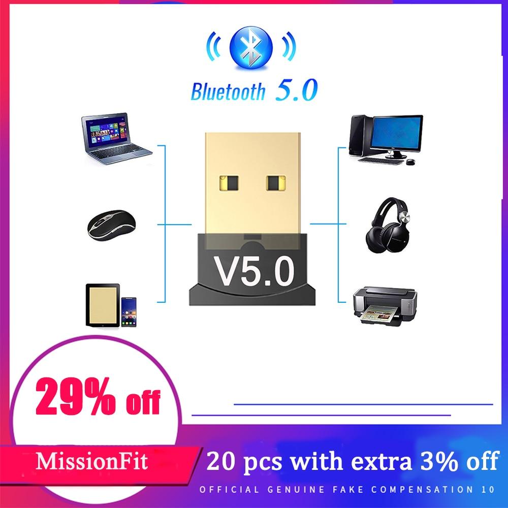 USB Bluetooth 5,0 адаптер ключ аудио передатчик Bluetooth приемник беспроводной USB адаптер для компьютера ПК ноутбука