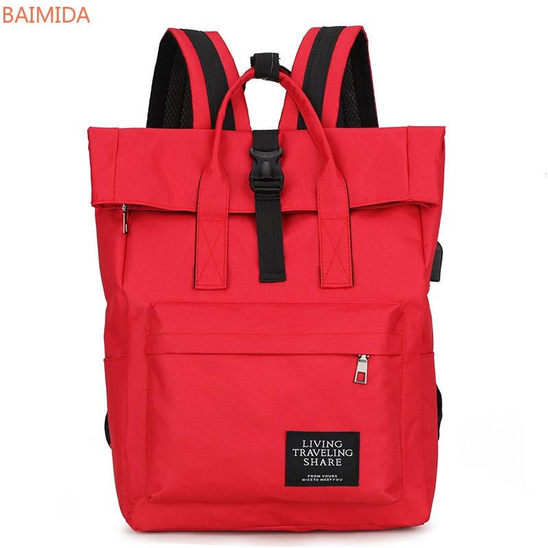 BAIMIDA 2021 fashion backpacks mochilas mochilas para mujer crossbody bags Korean version of that schoolgirl backpack ins