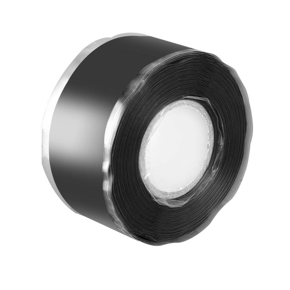 Fita isolante de silicone para tubulação tubulações fitas de reparo para ferramentas de encanamento abastecimento de água Auto-adesivo hidrofóbico Auto-fluxado banda