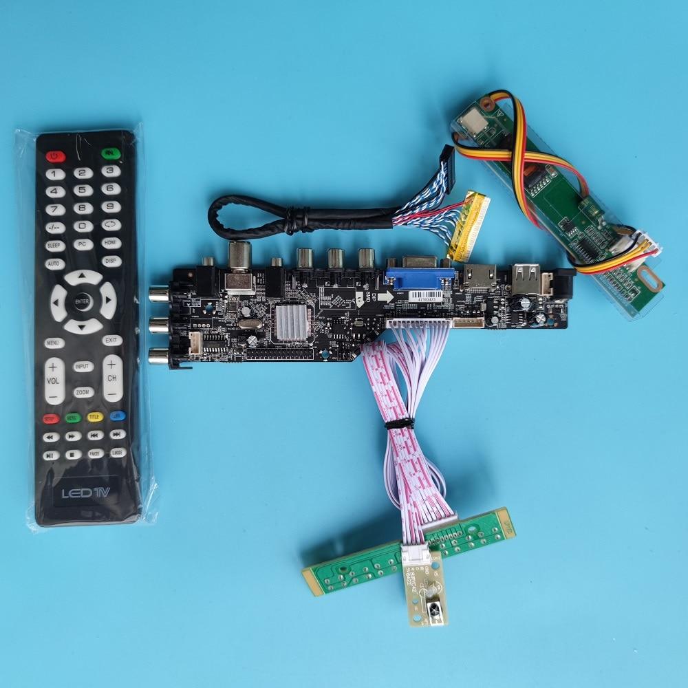 عدة ل LP154W01 TL 1280x800 مجلس تحكم عن بعد HDMI متوافق LED USB VGA AV TV سائق الرقمية dvb-t DVB-T2 لوحة العرض