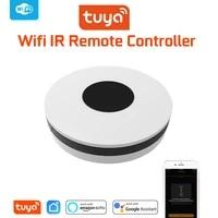 Tuya     Hub de controle a infrarouge universel pour maison connectee  wi-fi  IR  pour climatiseur  Alexa  Google Home