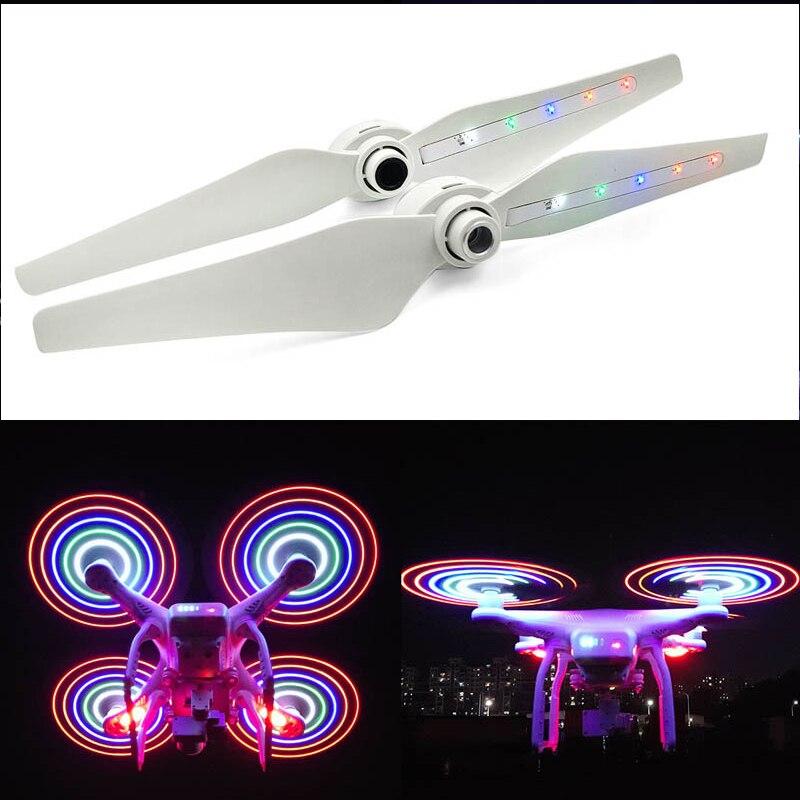 STARTRC DJI فانتوم 3 الطائرة بدون طيار LED فلاش مراوح اللون مضيئة مجداف ل DJI فانتوم 3 سلسلة/F450 ملحقات طائرة بدون طيار