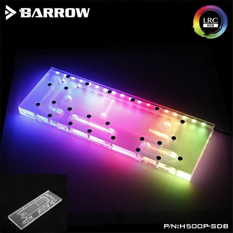 Waterway Board For CoolerMaster H500P Case, For Intel CPU Water Block & Single GPU Building (5V 3Pin) Motherboard AURA H500P-SDB