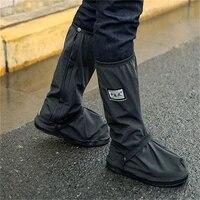 creative waterproof shoe covers reusable motorcycle cycling bike rain boots shoe cover rainproof shoes cover rainproof thick