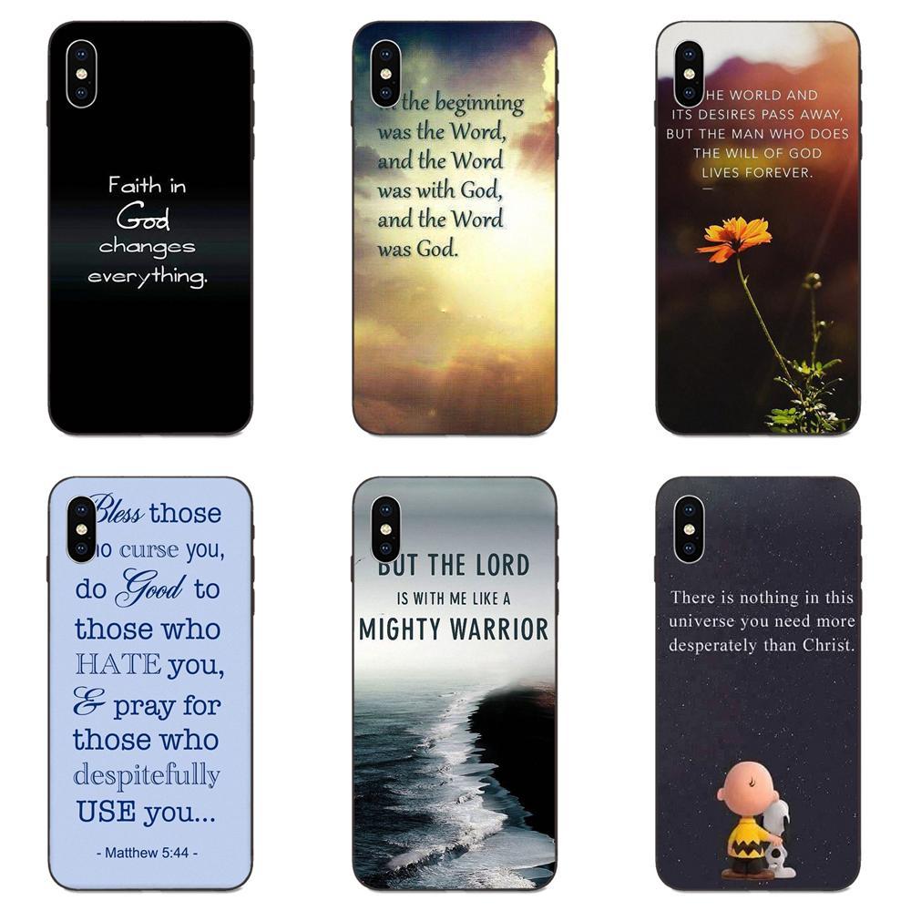 Dios es amor Biblia Cristiana para Huawei Mate 9 10 20 P8 P9 P10 P20 P30 Lite Juego Mini Pro P smart Plus Z 2017 2019 TPU caja del teléfono de la piel