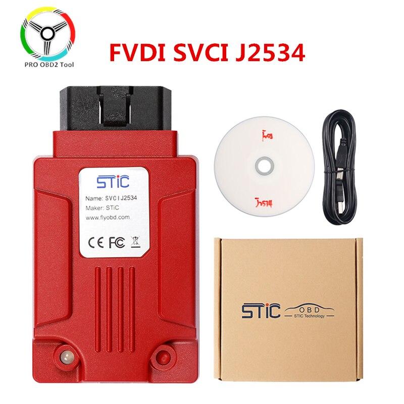 Quality Original FVDI J2534 Car Diagnostic Tool Support SAE J1850 Protocol Online Module Programming