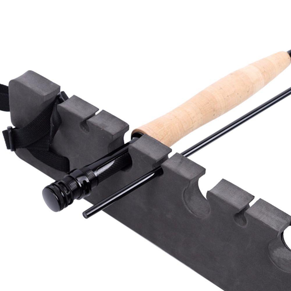 Soporte de cañas de pescar soporte de almacenamiento magnético portátil soporte de vehículo