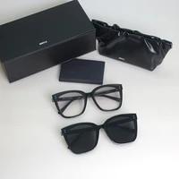 2021 fashion cat eye sunglasses korea gentle designer gabee women sun glasses fashion lady luxury round zeiss lense sunglass
