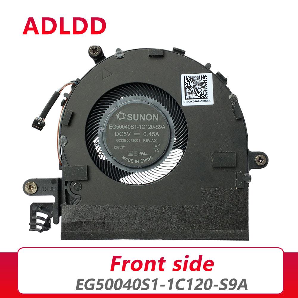 Ventilador de refrigeración para ordenador portátil, enfriador para sunon EG50040S1-1C120-S9A, DC5V, 0.45A,...