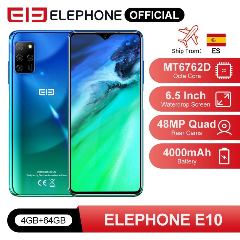 ELEPHONE E10 Octa Core Смартфон 4GB 64GB 6.5