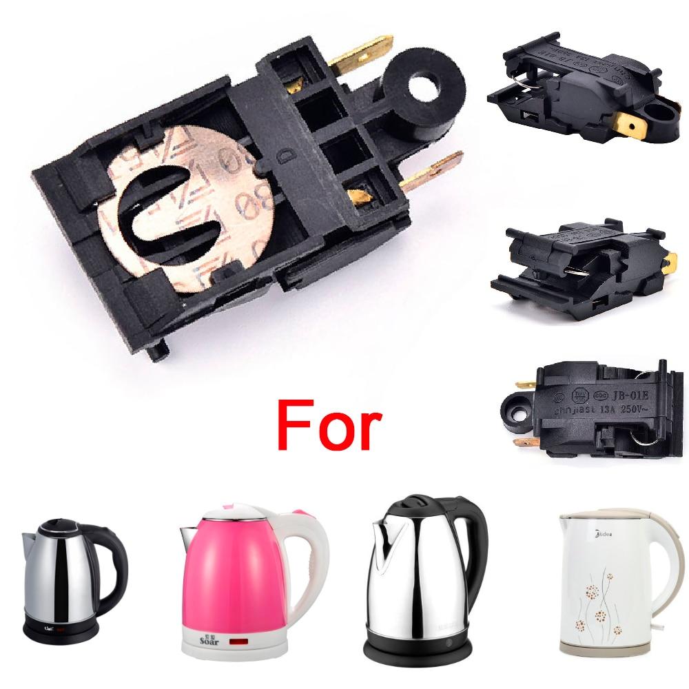 10Pcs Electric Kettle Parts Standard 13A Electric Kettle Thermostat Switch Universal Replacement Par