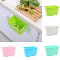 kitchen waste sink stove hanging trash can plastic basket hanging trash can waste garbage bowl box car office rubbish container