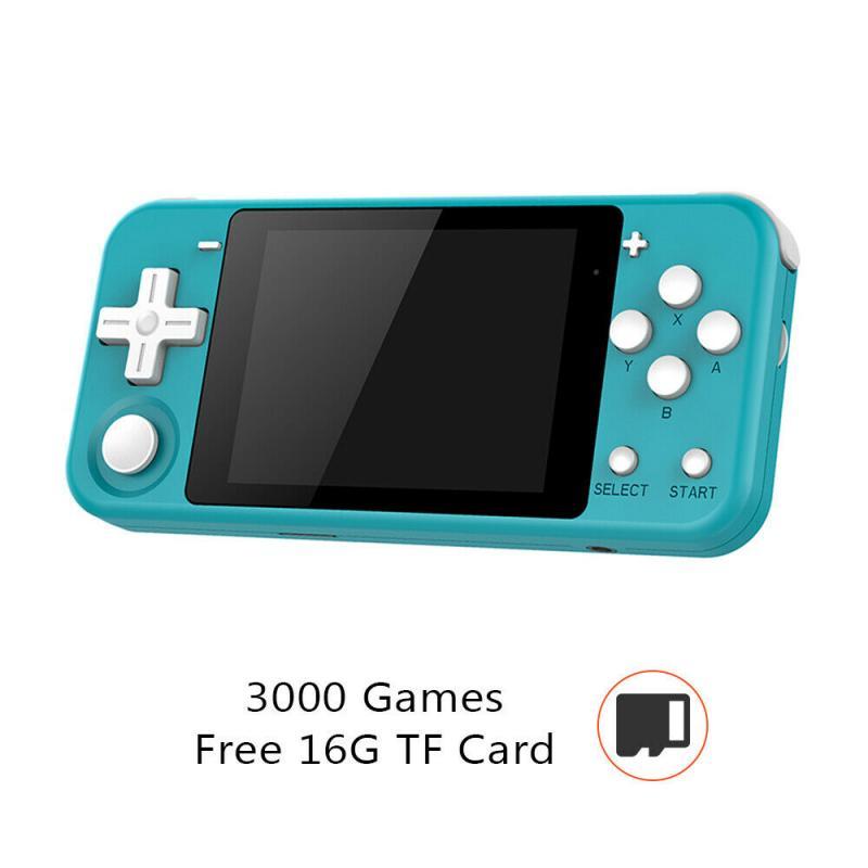 Q90 3 pulgadas consola De juegos Retro mando De juegos con la...
