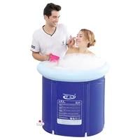 inflatable portable bathtub spa foldable baby solid steam winter bathtub adult plastic banheira bathroom products de50yt
