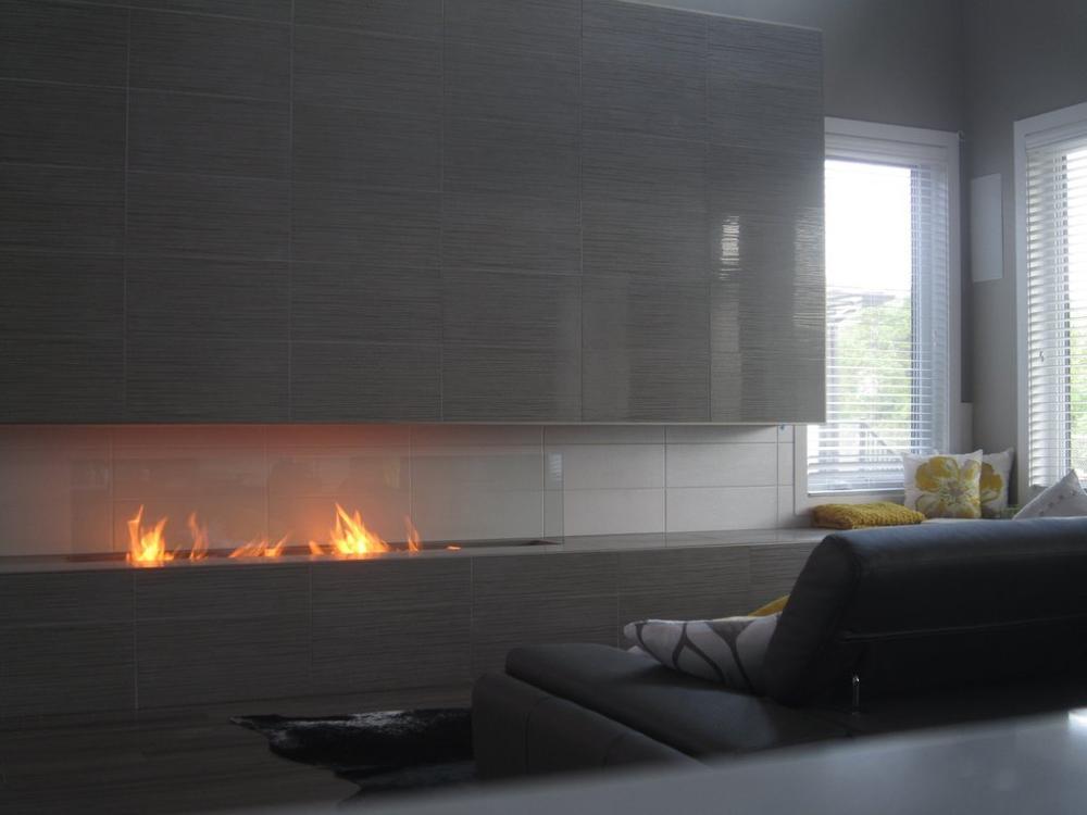 Inno-Fire-مواقد كهربائية ذكية من الإيثانول ، 36 بوصة ، ديكور منزلي