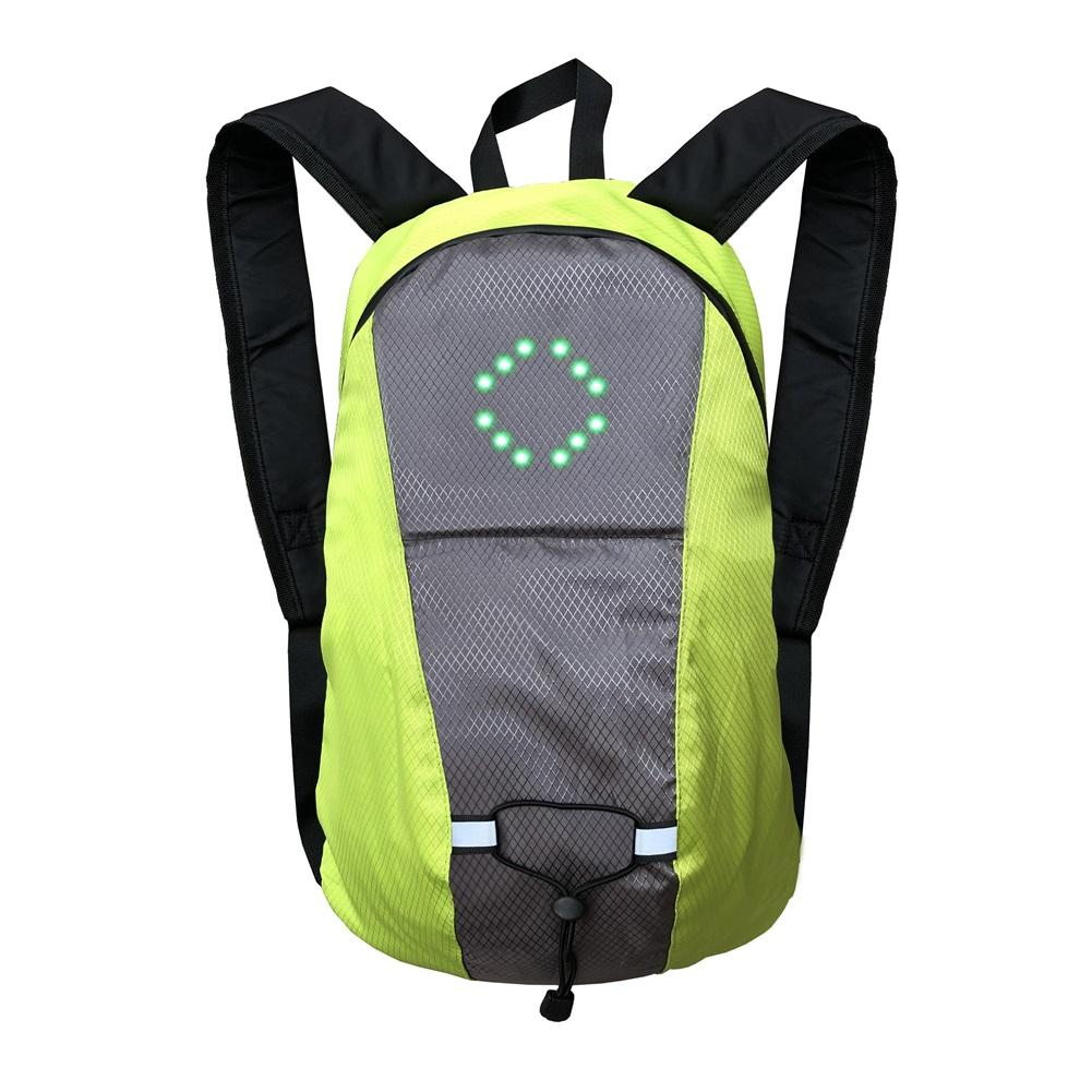 15L LED Light Backpack Bicycle Waterproof Rucksack Bike Backpack for Cycling Camping, Hydration Backpack Bag for Hiking Clim