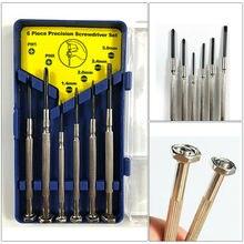 6 in 1 Mini Small Watch Screwdriver Set Precision Jewelry Eyeglasses Repair Tool Kit New