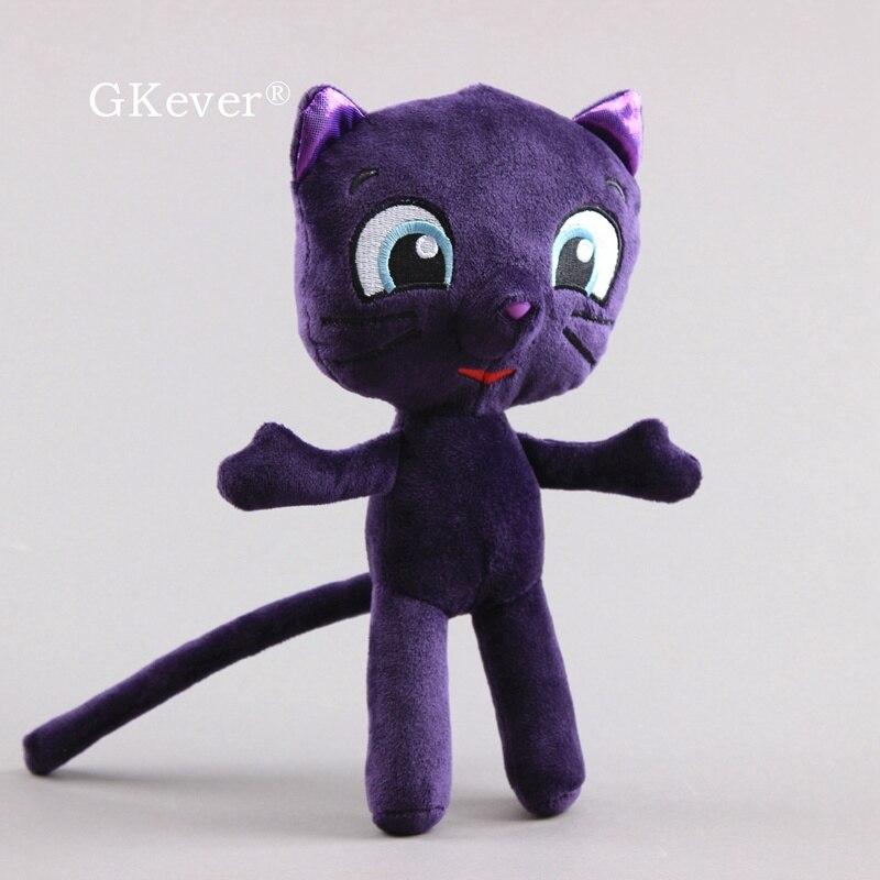 "True and The Rainbow Kingdom, peluche de gato de 10 "", muñecos de peluche de juguete"