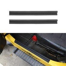 Voor Jeep Wrangler Tj 1997-2006 Welkom Pedaal Protector Instaplijsten Plaat Rubber Zwarte Auto Interieur Accessoires