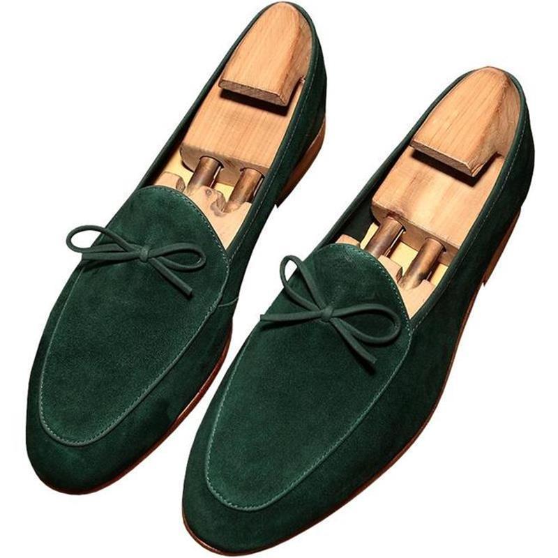 اليدوية كبيرة الحجم حذاء فاخر Lefu الرجال الأحذية قدم واحدة الشعر المصمم أحذية للرجال تنفس الأحذية ZQ0122