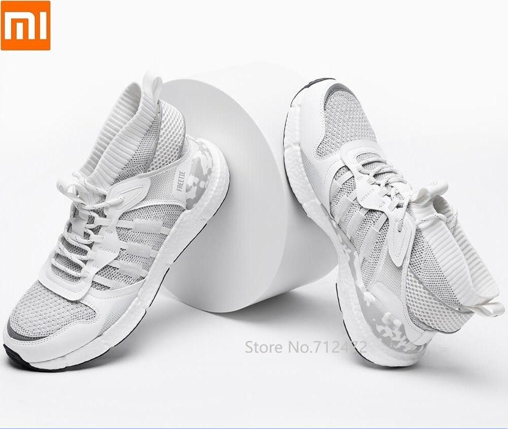 Youpin FREETIE-أحذية رياضية للرجال ، أحذية رياضية خارجية مسامية مع عظم السمك وخياطة من الجلد