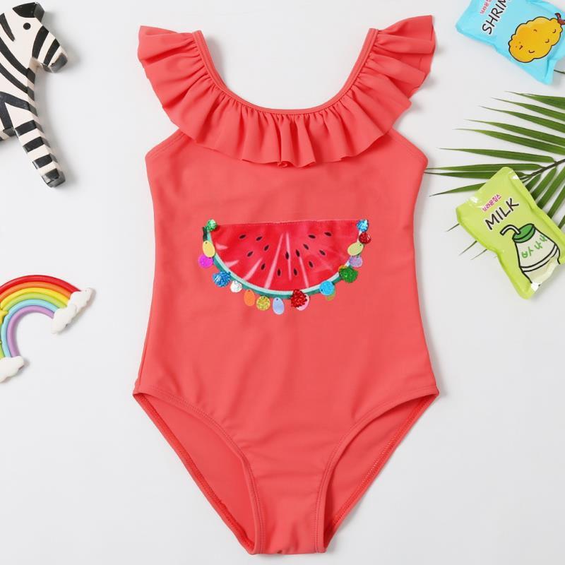 Фото - 2021 летние купальники для девочек, Цельный купальник для девочек, детский купальник, купальник для детей, милый детский купальник купальник