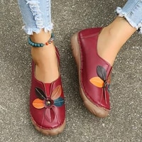 womens shoes round head flowers women casual large size lazy shoes flat bottom womens shoes loafers womens vulcanized shoes
