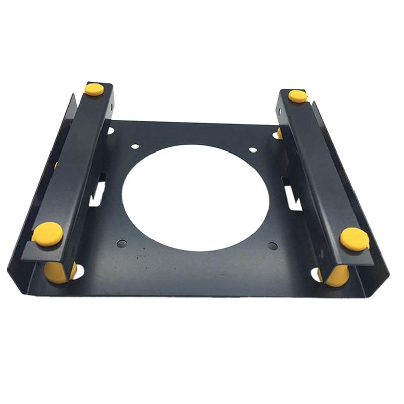 3.5-Inch Hard Disk Shock Absorber Bracket for PC Chassis 3.5 HDD to 5.25 DVD ROM Bracket Hard Disk Bracket