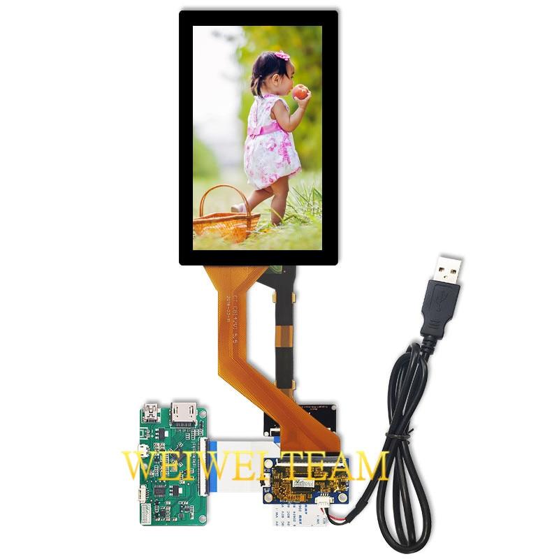 Quad-HD 5.5 inch 2k LCD Screen LS055R1SX04 Photon Display 1440x2560 HDMI MIPI Driver Board Touch Panel Glass Digitizer VR 2019