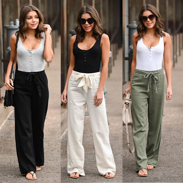 Streetwear Women Wide Leg Pants Summer Gothic Trousers Women Plus Size Clothing Mama Korean 2021 Fashion Pants Vintage